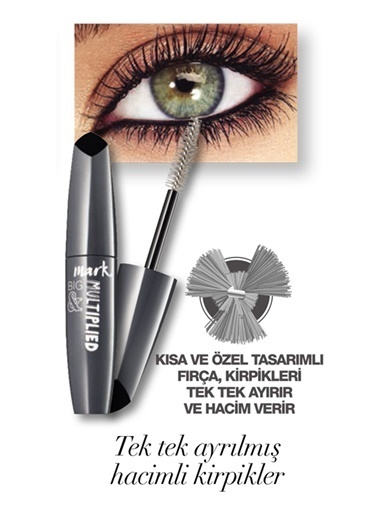 Avon Mark Big and Multiplied Hacim Veren Maskara 10 MlBlack Siyah